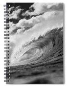 Barrel Clouds Spiral Notebook