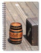 Barrel Spiral Notebook