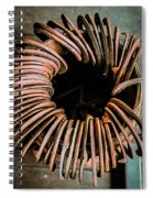 Barrel Of Horseshoes Spiral Notebook