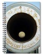 Barrel Of The Gun Spiral Notebook