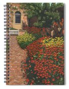 Barrington Court Gardens Somerset Spiral Notebook