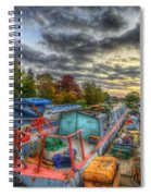 Barrow Boats Spiral Notebook