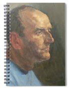 Barry, 2008 Oil On Canvas Spiral Notebook