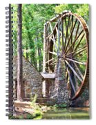 Berry College's Old Mill - Square Spiral Notebook