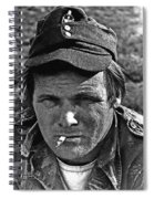 Barry Sadler The Green Berets Homage 1968 Tucson Arizona 1971-2008 Spiral Notebook