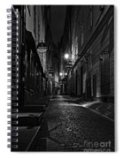 Bars In The Alley Spiral Notebook