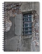 Bars On The Windows Spiral Notebook