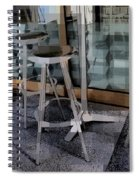 Barstools - Before The Night Begins Spiral Notebook
