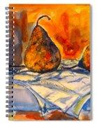 Bartlett Pears Spiral Notebook