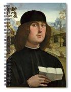 Bartolomeo Bianchini Spiral Notebook