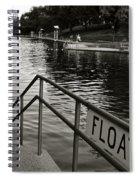 Barton Springs Pool In Austin Spiral Notebook