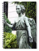 Barzaghi Memorial Side View II Detail Monumental Cemetery Spiral Notebook