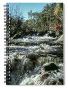 Base Of Ragged Falls Spiral Notebook