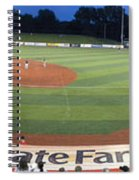 Baseball America's Past Time Spiral Notebook