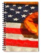 Baseball An American Pastime Spiral Notebook