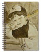 Baseball At It's Best Spiral Notebook