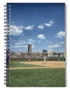 Baseball At Wrigley Field In The 1990s Spiral Notebook
