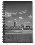 Baseball At Wrigley In The 1990s Spiral Notebook
