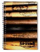 Baseball Bats Spiral Notebook
