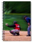 Baseball Batter Up Spiral Notebook