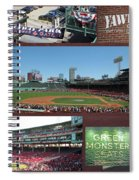 Baseball Collage Spiral Notebook