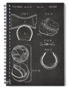 Baseball Construction Patent 2 - Gray Spiral Notebook