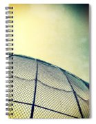 Baseball Field 8 Spiral Notebook