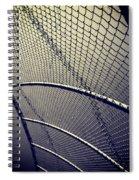 Baseball Field 9 Spiral Notebook