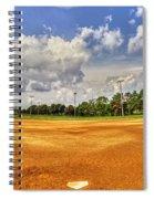 Baseball Field Spiral Notebook