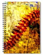 Baseball Impression Spiral Notebook