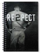 Baseball Spiral Notebook