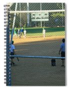 Baseball Practice Spiral Notebook
