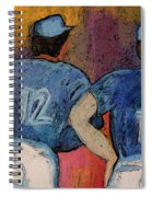 Baseball Team By Jrr  Spiral Notebook