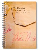 Baseball Treasures Spiral Notebook