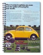 Basic Beetle  Spiral Notebook
