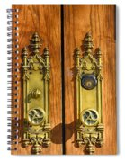 Basilica Door Knobs Spiral Notebook