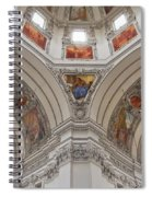 Basilica Of St. Peter In Salzburg Spiral Notebook