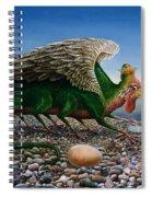 Basilisk, 1986 Oils And Tempera On Paper Spiral Notebook