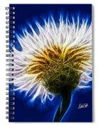 Basket Flower Inner Beauty Spiral Notebook
