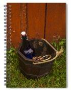 Basket Of Goodies Spiral Notebook