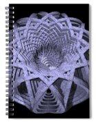 Basket Of Hyperbolae 01 Spiral Notebook