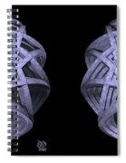 Basket Of Hyperbolae - Stereogram Spiral Notebook