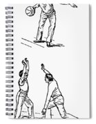 Basketball, 1893 Spiral Notebook