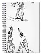 Basketball, 1893 Spiral Notebook