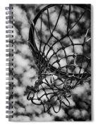 Basketball Heaven Spiral Notebook