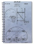Basketball Hoop Spiral Notebook