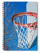 Basketball Net Spiral Notebook