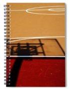 Basketball Shadows Spiral Notebook