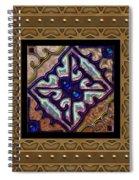 Basketweave Seven  Spiral Notebook