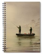 Bass Fishing In Florida Spiral Notebook